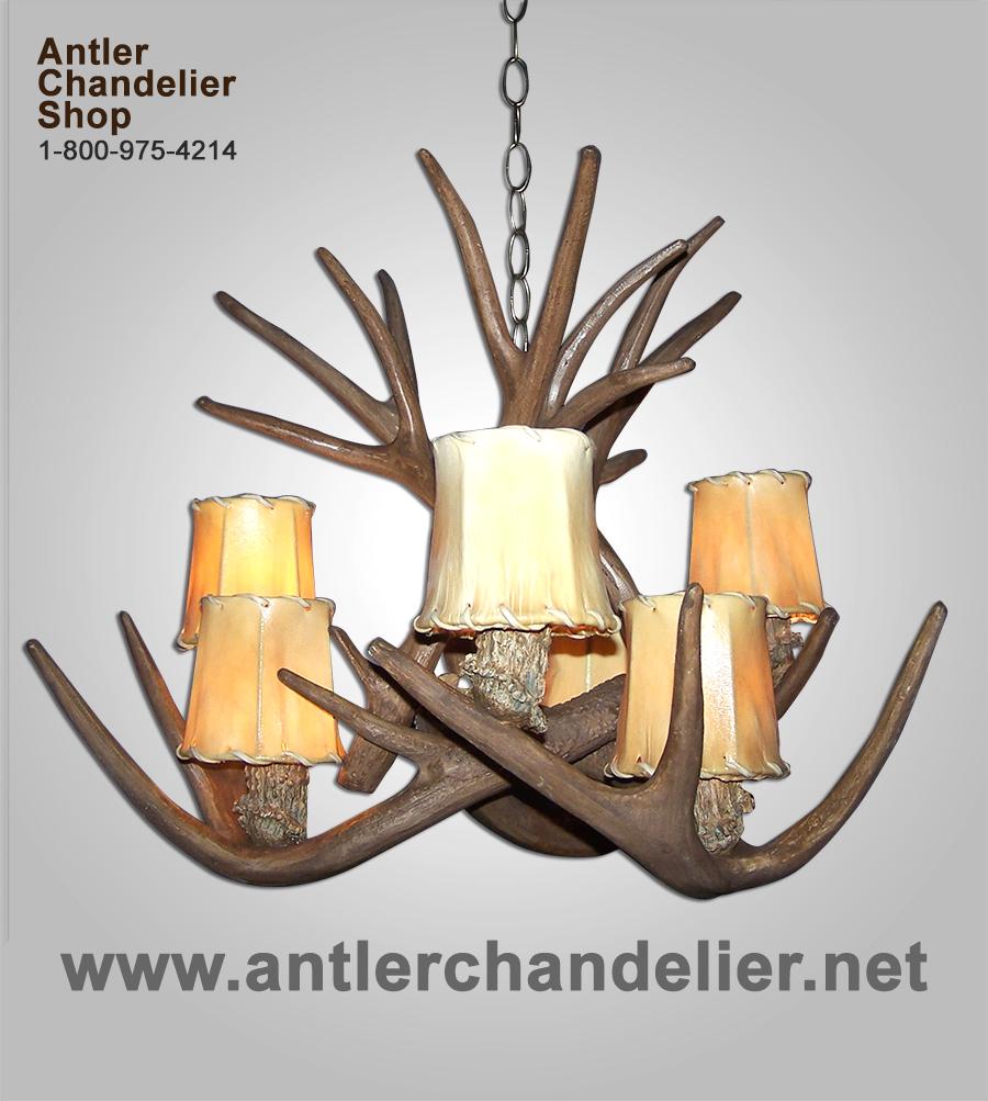 Faux antler mule deerwhitetail chandelier 6 light sockets rustic httpsantlerchandelierebayimagessmall20and20medium arubaitofo Images